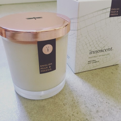 Premium Candle Rose Gold - Grape, Jasmine & Violet