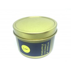 Gold Tin Candle - Summer Pineapple Collection